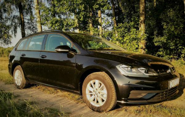 VW GOLF kombi - 150.00 pln/doba - kaucja 500.00 pln